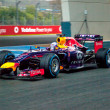 Постер, плакат: Team Red Bull Racing F1 Daniel Ricciardo 2014