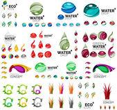 Eco přírody pojmy, sadu ikon