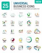 Vektorové logo kolekce
