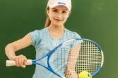 Tennis - schöne junge Mädchen Tennisspieler