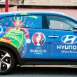 Постер, плакат: Hyundai Tucson Official Partner UEFA trophy
