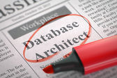 Database Architect Join Our Team.
