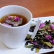 ������, ������: Aromatic infusion of flower petals