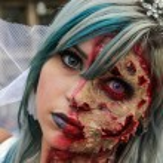 ������, ������: Woman in costumes in Zombie Walk Sao Paulo