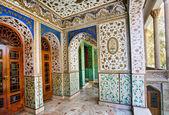 Hagyományos perzsa design a palota Golestan