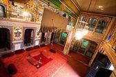 Interieur des Zimmers Herrenhaus gehört zur reichen indischen Familie