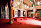Mansion room belongs to rich indian family of Rajasthan