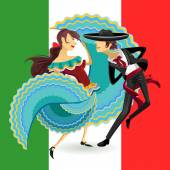 Mexican performing a Mexicos National Dance Jarabe
