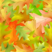 Autumnal seamless patternvector illustration clip-art