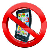 Schalten Sie Handy-Zeichen
