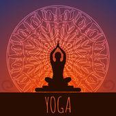 Yoga-Hintergrund