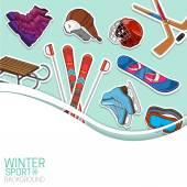 Sticker design elements Eps 10 vector illustration