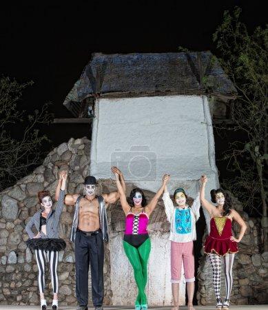 Постер, плакат: Celebrating Cirque Performers, холст на подрамнике