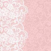 Elegante Doily Lace sanfte Hintergrund