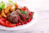 Gustosa carne arrostita
