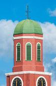 Barbados clock tower detail