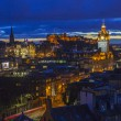 Постер, плакат: Edinburgh View in Scotland