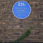 Постер, плакат: Sherlock Holmes Blue Plaque in Baker Street