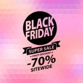 Black friday sale illustration Advertising poster