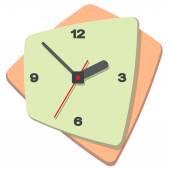 Falra szerelhető digitális óra