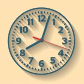 Wandmontierte Digitaluhr