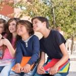 Постер, плакат: Kids talking photos