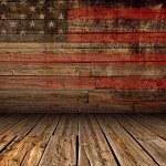 Постер, плакат: Wooden American Stage