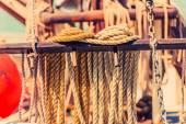 Jachta kotevní lano