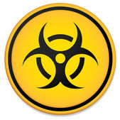 Biohazard symbol sign vector illustration