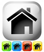 House icons Home house residential building homepage icons Vector graphics