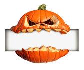 Halloween leer Zeichen