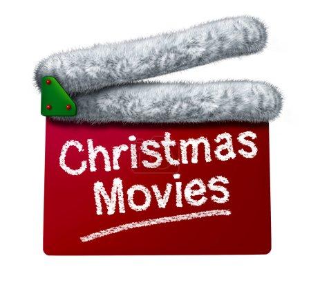 Постер, плакат: Christmas Movies, холст на подрамнике