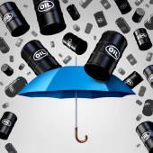 Klesající ropné ochrana