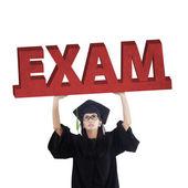 Postgraduální student obsahuje zkoušku text