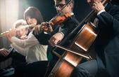 Klassikkonzert: Sinfonieorchester auf der Bühne
