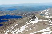Panoramatický pohled z hory Gaustatoppen