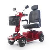 Motorizált mobilitás robogó fot idős emberek
