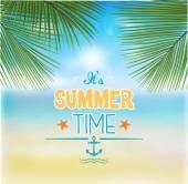 Summer Background - Illustration