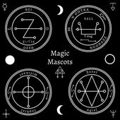 Astrologické talismany sada