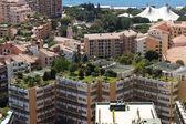 Monako budování střechy