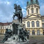 Постер, плакат: Statue Friedrich Wilhelm I before Charlottenburg Palace Berlin
