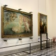 Постер, плакат: Hall with paintings by Botticelli Uffizi Gallery Florence