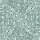 Abstraktní květinovým vzorem. vektorový pozadí