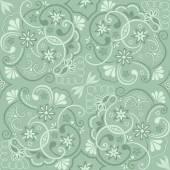 Vintage květinový vzor bezešvé prvek vektoru