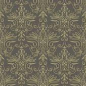 Damask seamless floral background pattern Vector illustration