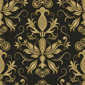 Damask seamless pattern for design Vector Illustration