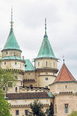Detail photo of Bojnice castle, Slovakia, cultural heritage