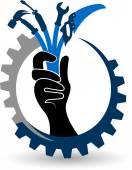 Ruční nástroje logo