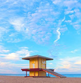 Lifeguard house in Hollywood Florida