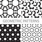 Seamless graphic geometric patterns